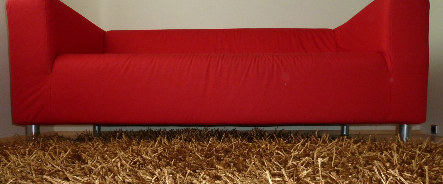 Foto rote Couch
